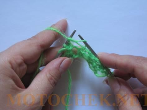 Вязание ажурного полотна  Мастер Класс  МК Спицы